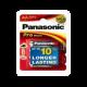 Piles alcalines LR06 - AA – 1,5V Panasonic Pro Power