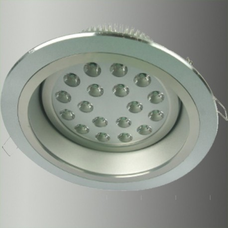 Downlight LED 230mm 18X1W blanc froid
