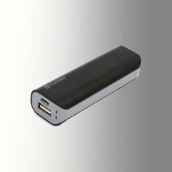 PLATINET POWER BANK 2200 mAh + MicroUSB CABLE BLACK/GREY