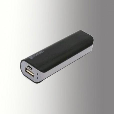 PLATINET POWER BANK 2200 mAh + MicroUSB CABLE BLACK/GREY