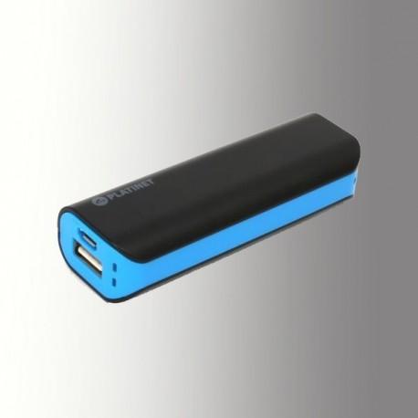 PLATINET POWER BANK 2200 mAh + MicroUSB CABLE BLACK/BLUE