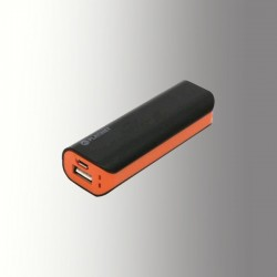 PLATINET POWER BANK 2200 mAh + MicroUSB CABLE BLACK/ORANGE
