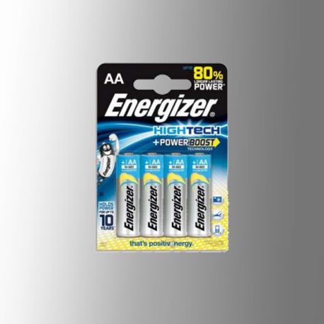 Piles alcalines LR06 - AA – 1,5V Energizer Power Boost(blister de 4)