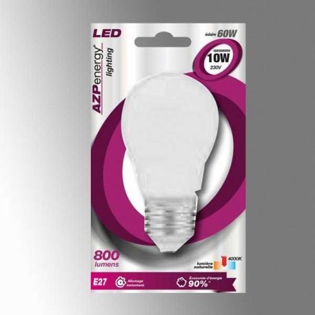 Ampoule LED Sphère E27 10W 4000K