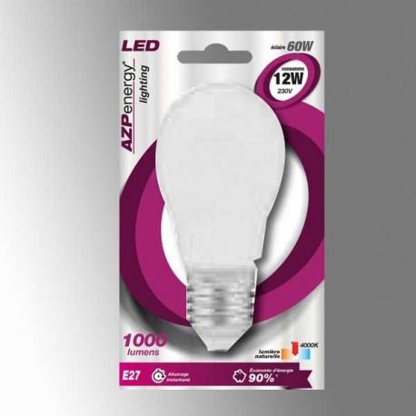 Ampoule LED Sphère E27 12W 4000K