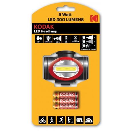 Lampe frontale KODAK LED 300 Lumens