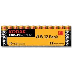 Piles alcalines LR03 - AAA  KODAK (blister de 4)