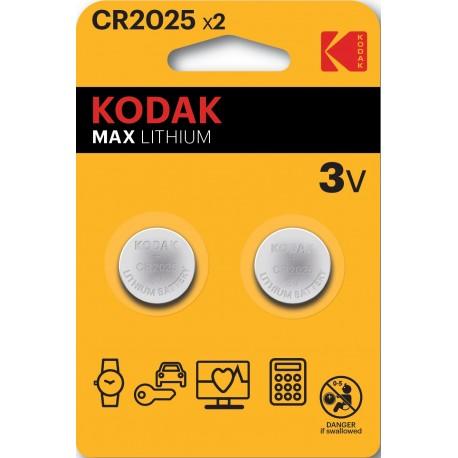 PILES CR2025 KODAK B2