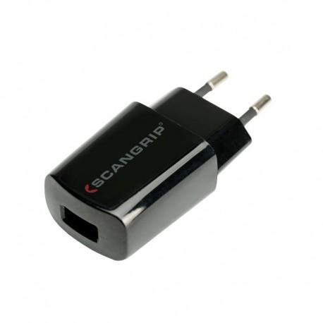 Charger USB 5V, 1A SCANGRIP