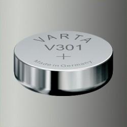 Pile de montre Varta V301, SR43, SR1142SW