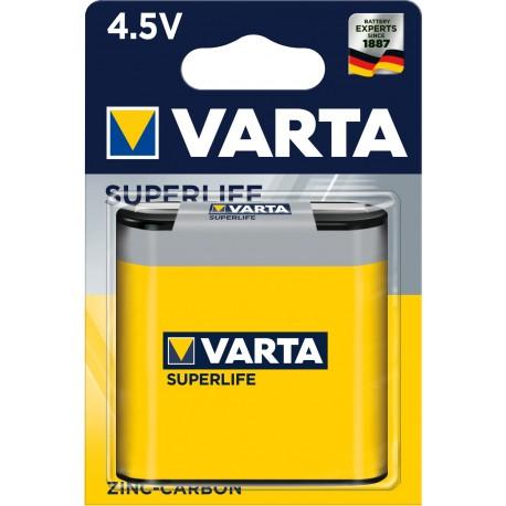 Pile saline 3R12 - 4.5V Varta Superlife