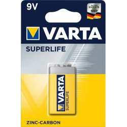 Pile saline 6F22 - 9V Varta Superlife