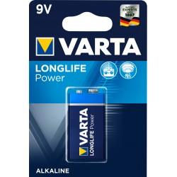 Pile alcaline 6LR61 - 9V Varta High Energy