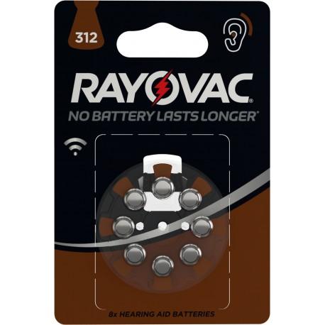 Piles acoustiques HA312 Rayovac