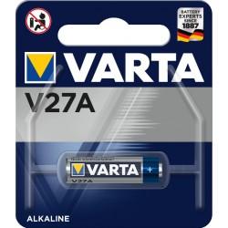 Pile électronique alcaline 12V 27A - MN27 Varta