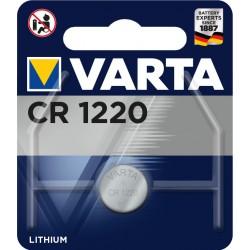 Pile électronique lithium CR1220 Varta