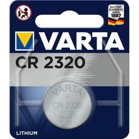 Pile électronique lithium CR2320 Varta.