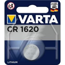 Pile électronique lithium CR1620 Varta