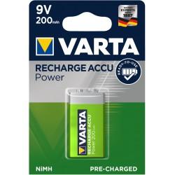 Pile rechargeable 9V - 200mAH prêt à l'emploi