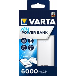 VARTA POWERPACK HIGH CAPACITY 6000MAH Bx1