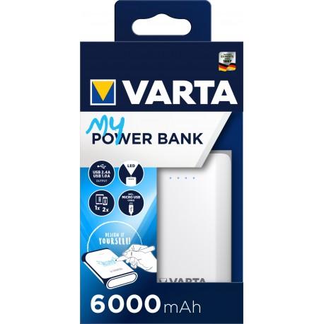 VARTA POWERPACK HIGH CAPACITY 6000MAH Bx1