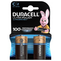 Piles alcalines LR14 - C – 1,5V Duracell Ultra power