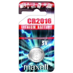 Pile électronique lithium CR2016 Maxell