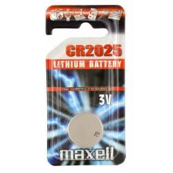 Pile électronique lithium CR2025 Maxell