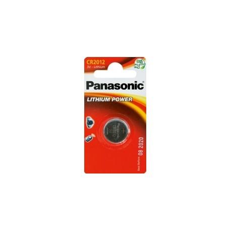 Pile électronique lithium CR2012 Panasonic