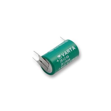 Pile Varta lithium 1/2 AA 3,6 volts Axial