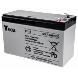 Batterie stationnaire YUCEL 12V 7Ah