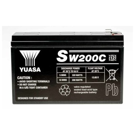 Batterie stationnaire YUCEL 12V 12Ah