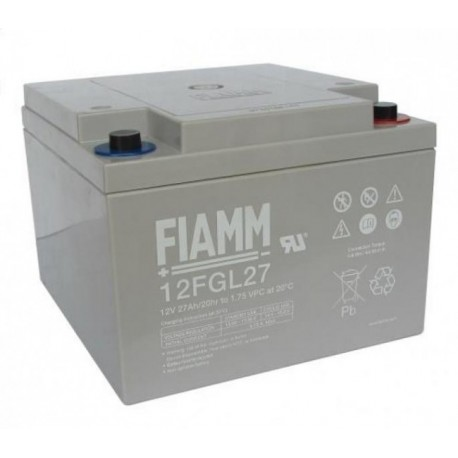 Batterie AGM FIAMM 12FGL27 12V 27Ah
