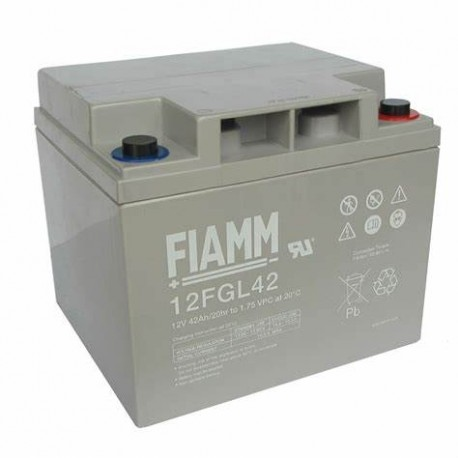 Batterie AGM FIAMM 12FGL42 12V 27Ah