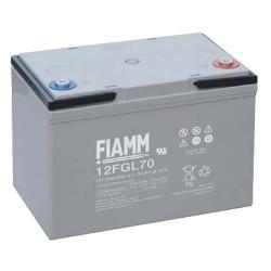 Batterie AGM FIAMM 12FGL70 12V 70Ah