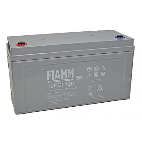 Batterie AGM FIAMM 12FGL120 12V 120Ah