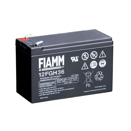 Batterie AGM FIAMM 12FGH36 12V 9Ah
