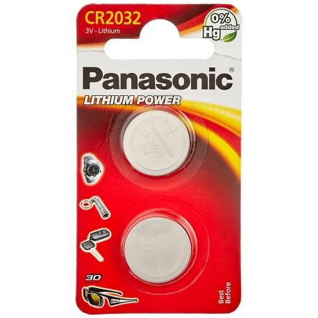 Pile électronique Panasonic CR2032