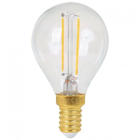 Ampoule E14 Sphérique LED Filament 3w 2700K G45 GIRARD SUDRON