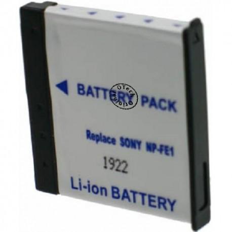 Batterie de remplacement Sony NP-FE1 Li-ion 3.7V 400mAh