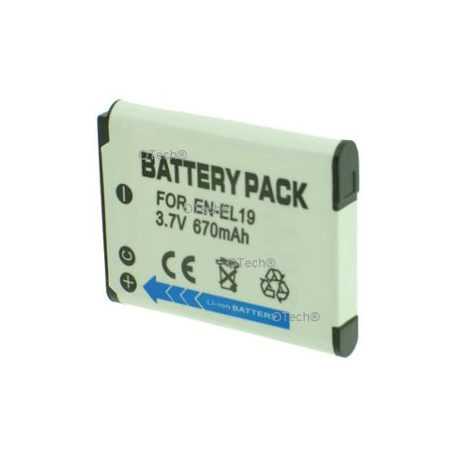 Batterie Appareil Photo NIKON EN-EL 19 3.7V Li-lon 700mAh