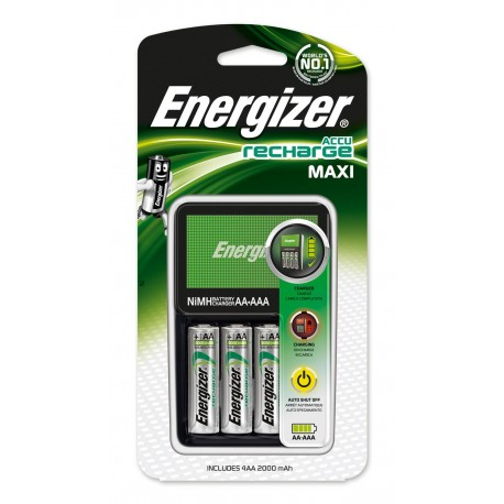 Energizer Maxi Charger - chargeur de batteries - 4 x type AA