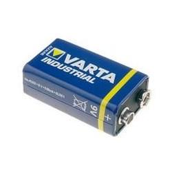 Pile Varta industrielle 6LR61 - 9V à l'unité