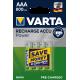Piles rechargeables AAA - HR3 - 800mAH prêt à l'emploi.