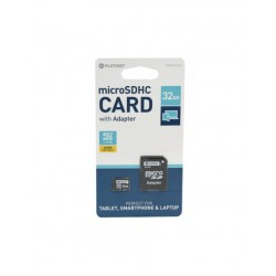 Carte Micro SDHC avec adaptateur 16GB