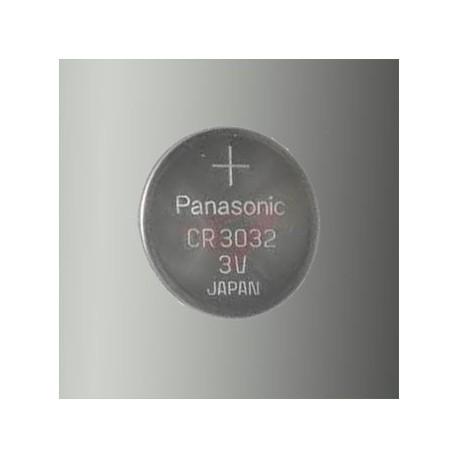 Pile électronique lithium CR3032 Panasonic