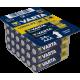 24 Piles alcalines LR03 - AAA – 1,5V Varta Longlife