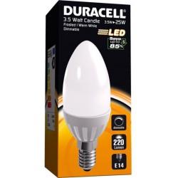 Ampoule LED 3.5W E14 220 Lumens - DURACELL