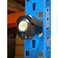 LAMPE DE TRAVAIL AIMANT  PRO RECHARGEABLE - 10W - 900 lumens