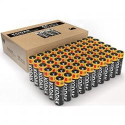 Lot de 60 piles AA - LR06  Alcaline - KODAK